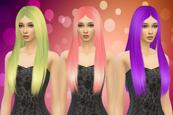 Pllumbobbilypixels: Nightcrawler`s Hairstyle 08 Retextured for Sims 4