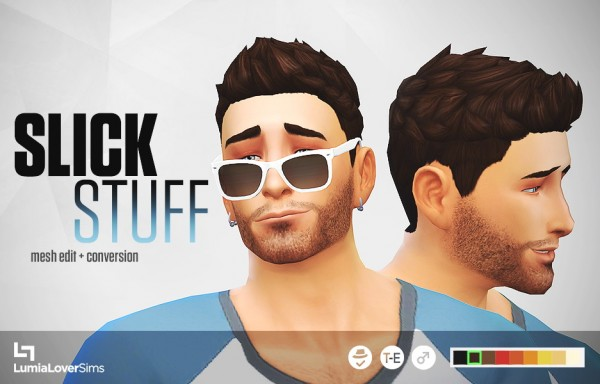 Lumia Lover Sims: Follower gift hairstyle retextured part 1/6 for Sims 4