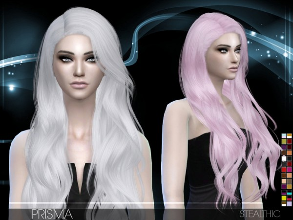 Stealthic: Prisma hairstyle by Stealthic for Sims 4