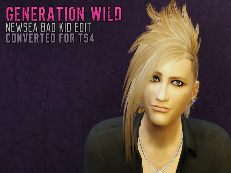 Sims 4 Hairs The Path Of Never More Generation Wild