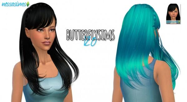 Nessa sims: Hair Dump 5 for Sims 4