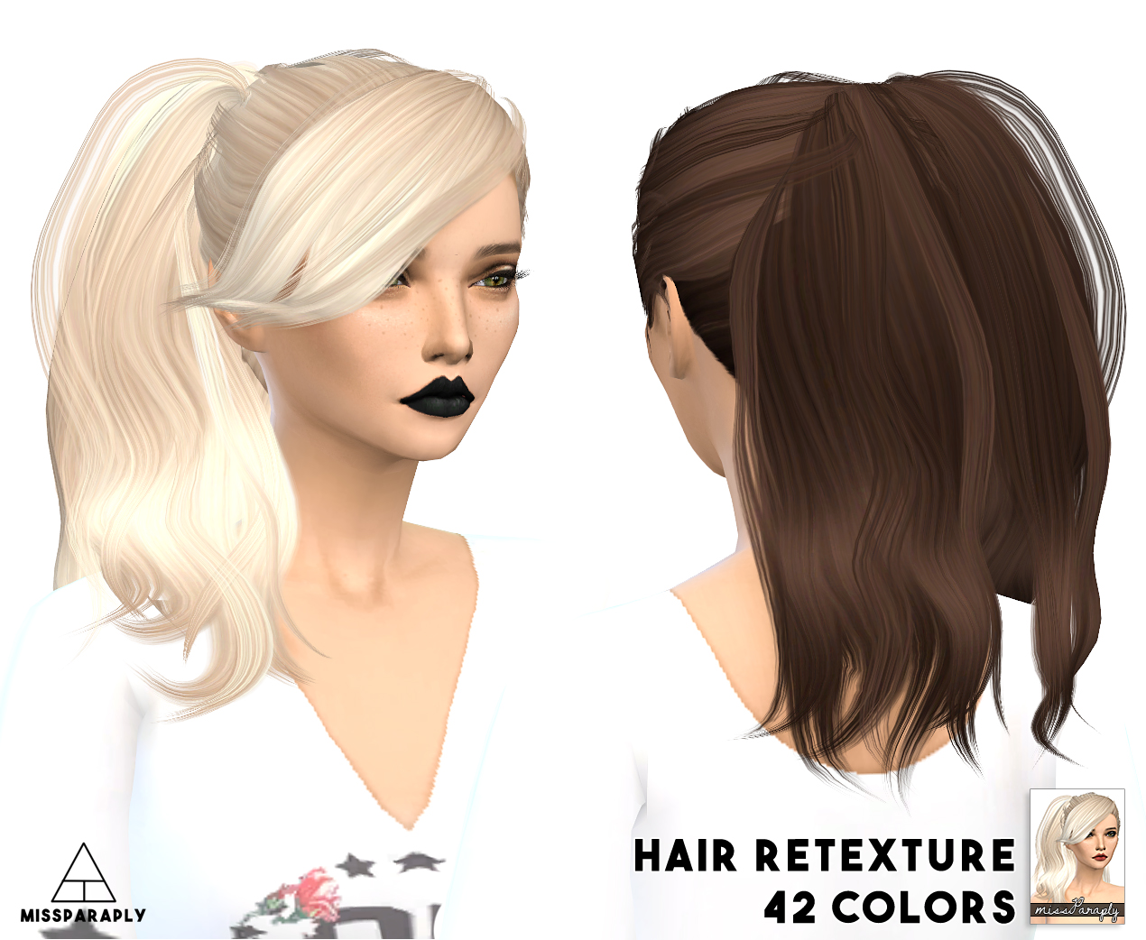 Sims 4 Hairs ~ Miss Paraply: Stealthic hairstyles dump: part 1