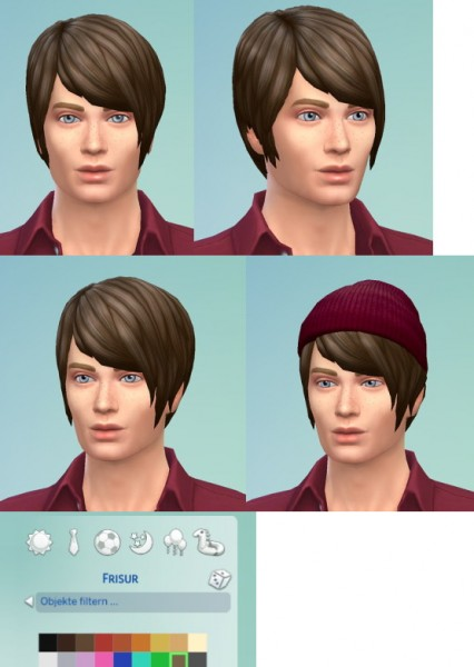 Birksches sims blog: Pixi Long for him for Sims 4