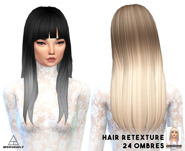 Miss Paraply: 10 000 + followers appreciation gift hairstyles part 2 for Sims 4