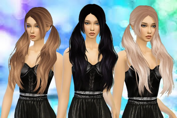 Pllumbobbilypixels: Stealthic Baby Doll hairstyle retextured for Sims 4