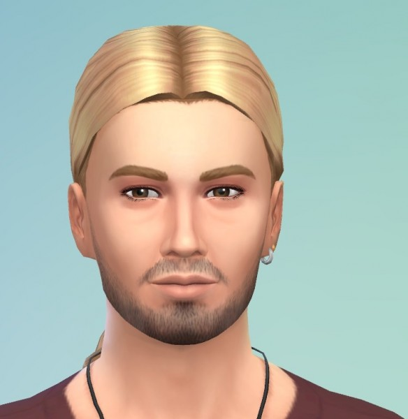 Birksches sims blog: EP01 Scientist Low Loop hairstyle converted for Sims 4