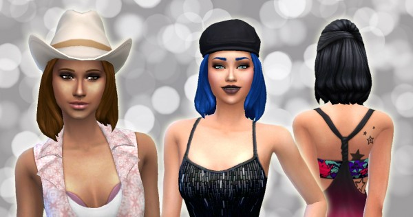 Mystufforigin: Downy Hair for Sims 4