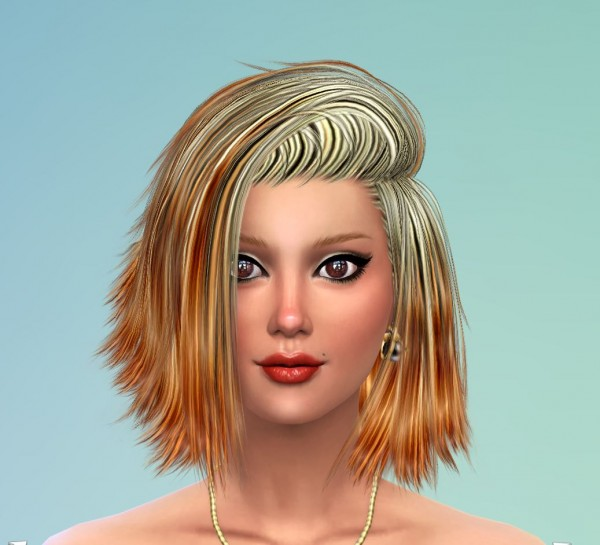 Mod The Sims: 50 Re colors of Stealthic High Life Female Hairstyle by Pinkstorm25 for Sims 4