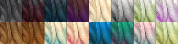 Ohmyglobsims: Kiara's Mysterious hairstyle retextured for Sims 4