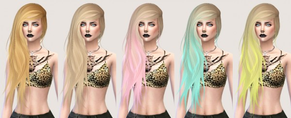 Salem2342: Stealthic Vanity hairstyle retextured for Sims 4
