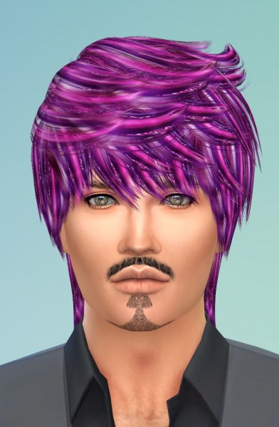 Mod The Sims: 32 Re colors of Ade Jack Hair by Pinkstorm25 for Sims 4