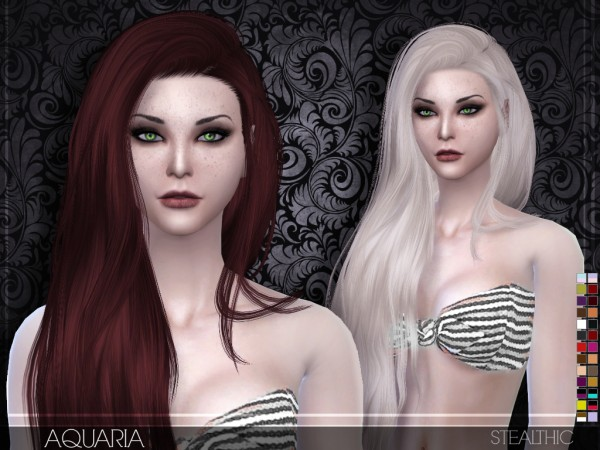 Stealthic: Aquaria hairstyle for Sims 4