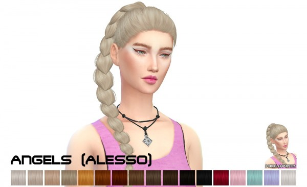 Porcelain Warehouse: Alesso`s hairstyle dump for Sims 4