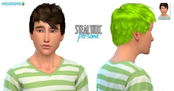 Nessa sims: Mini Hair Dump 4 for Sims 4