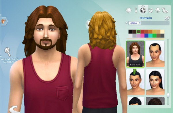 Mystufforigin: Blow Hairstyle for Sims 4