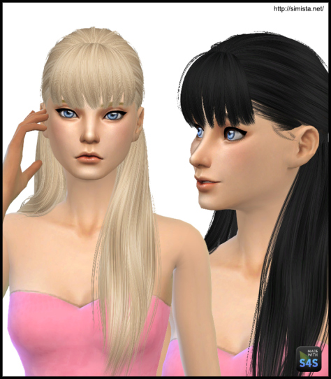 Simista: Alesso`s Edge Hairstyle Retextured for Sims 4