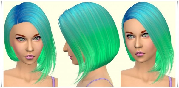 Annett`s Sims 4 Welt: Parrot bob hairstyle for Sims 4