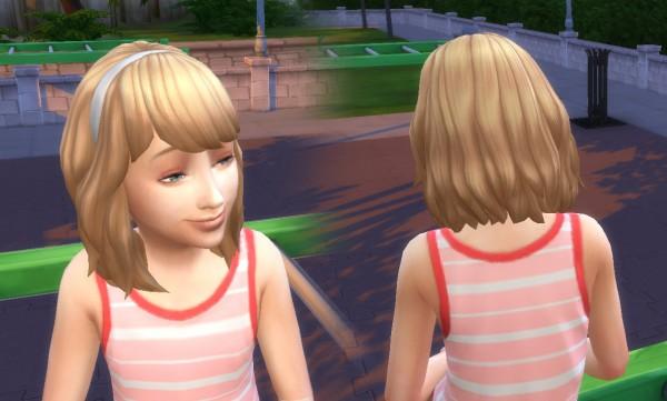 Mystufforigin: Wavy Band for Girls for Sims 4
