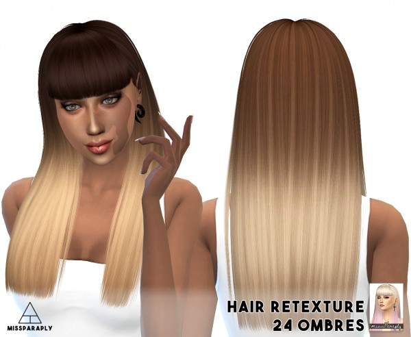 Miss Paraply: Nightcrawler hairstyles retextured for Sims 4