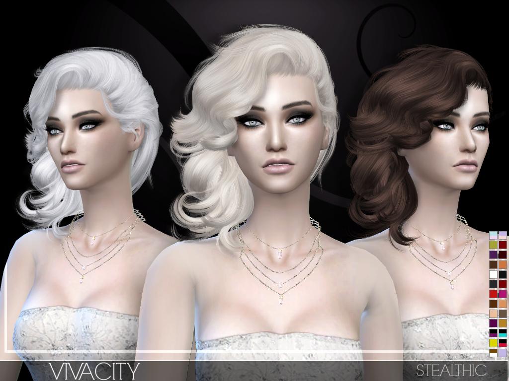 The sims 4 hairstyles cc - The Sims 4 Hairstyles Cc 19