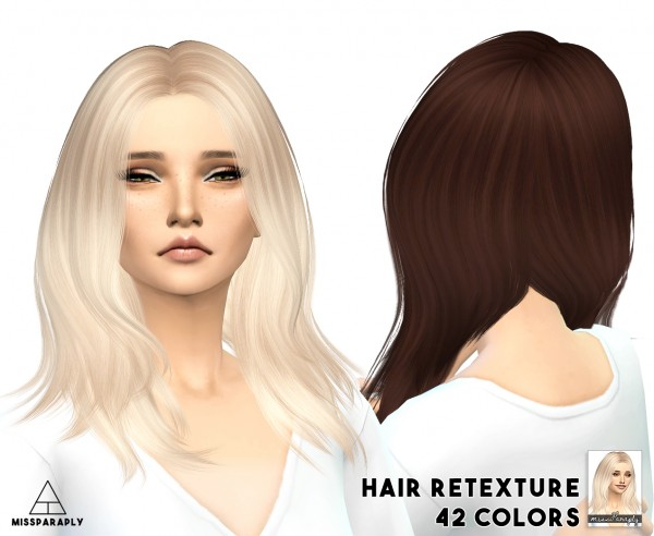 Miss Paraply: Nightcrawler Get Up hairstyle retextured for Sims 4