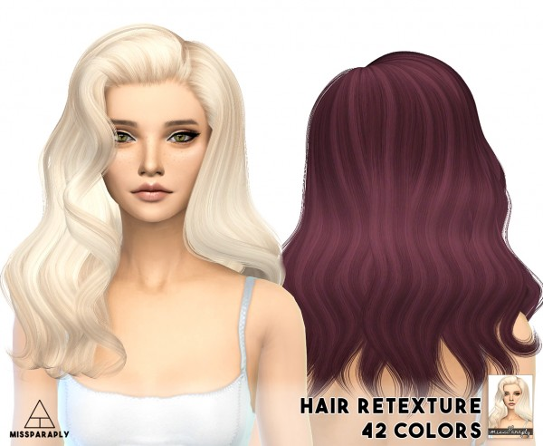 Miss Paraply: Alesso`s   Omen hairstyle retextured for Sims 4