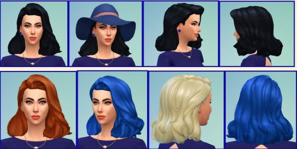 Birksches sims blog: Taylor hairstyle for Sims 4