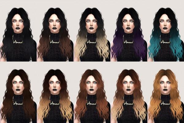 Salem2342: Sintiklia`s Hairstyle 12 Britney retextured for Sims 4