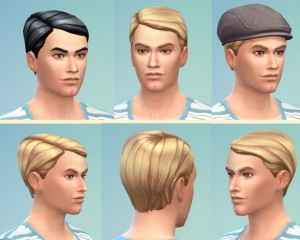 Birksches sims blog: Dandy Hairstyle for Sims 4