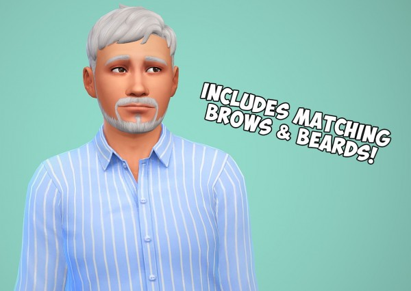 Swirl Goodies: Pooklet hair overhaul for Sims 4