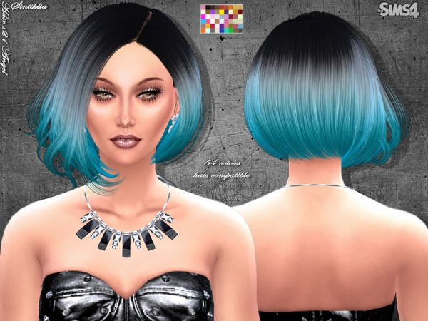 Sintiklia Sims: Angel hairstyle for Sims 4