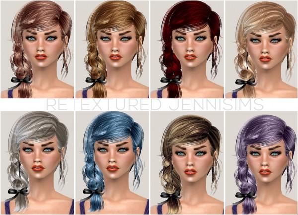 Jenni Sims: Newsea`s Hairsyle Thornbird,Paulina, Marshmallow retextured for Sims 4