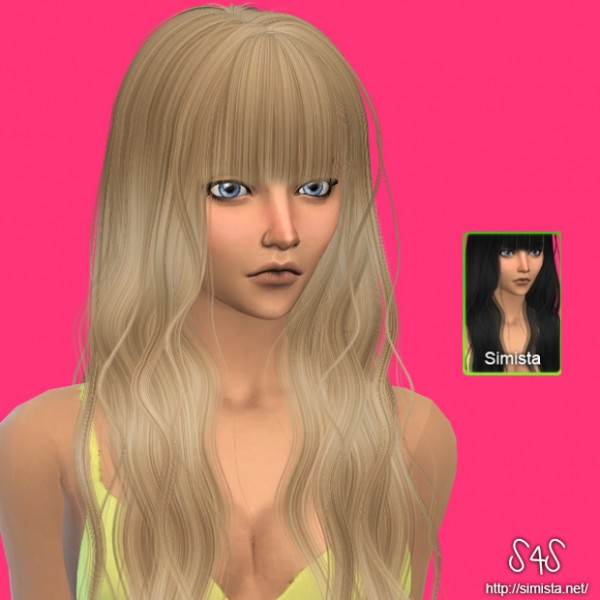Simista: May 79F hairstyle retextured for Sims 4