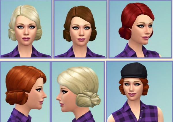 Birksches sims blog: The 30s Hairstyles for Sims 4