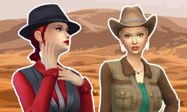 Mystufforigin: Reys Hairstyle for Sims 4
