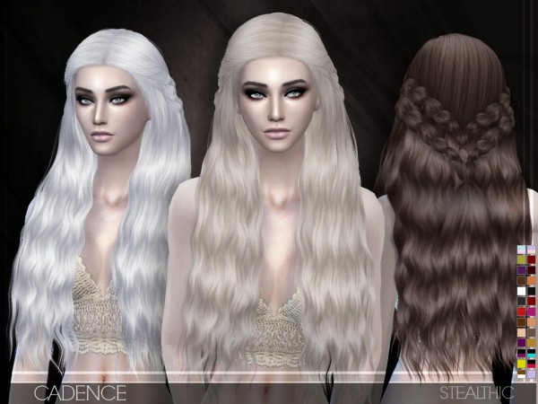 Stealthic: Cadence Hairstyle for Sims 4