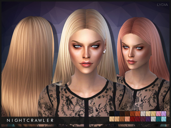 The Sims Resource: Lydia by Nightcrawler for Sims 4