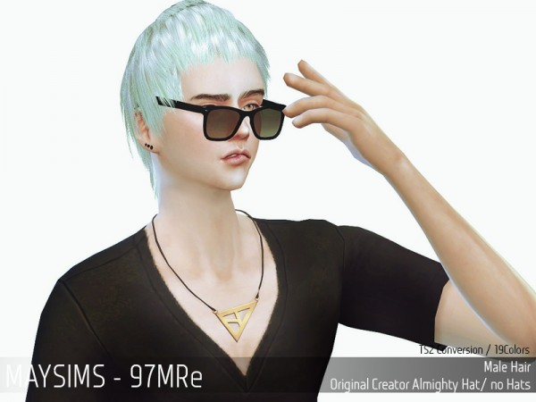 MAY Sims: May Hairstyle 97M Edit for Sims 4