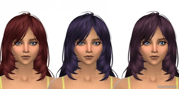 Simista: Kijiko Ocelot Hair Retextured for Sims 4