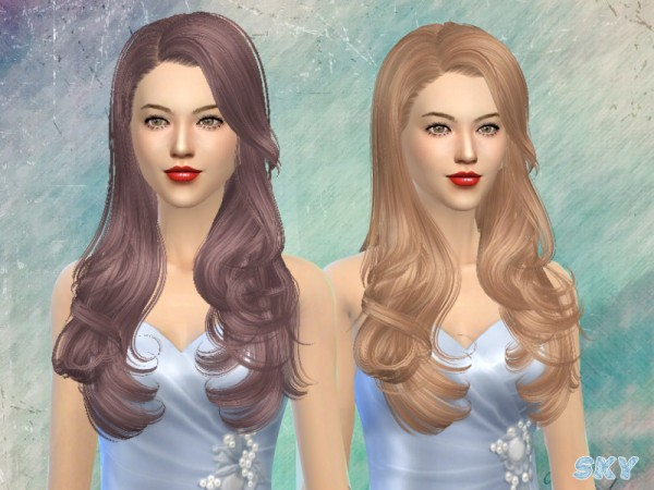 The Sims Resource: Skysims Hairstyle 084 for Sims 4