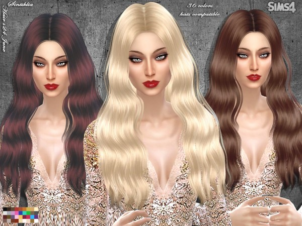 Sintiklia Sims: Hair 24 Jane for Sims 4