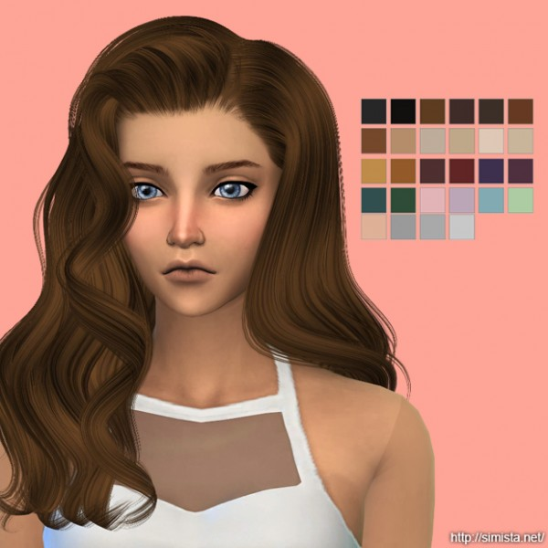 Simista: Alesso`s   Omen hairstyle retextured for Sims 4