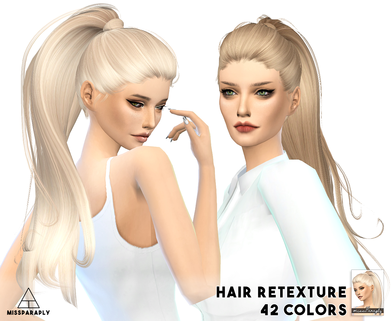 Sims 4 Hairs Miss Paraply Alesso S Paraguay Hairstyle