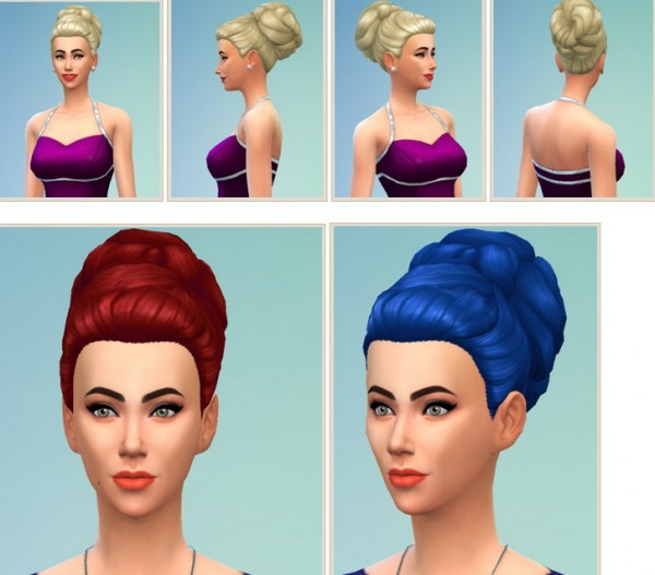 Birksches sims blog: '60s Hair for Sims 4