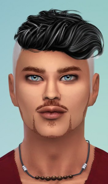 Mod The Sims: 46 Recolors of Alesso Coolsims Anto Darko by Pinkstorm25 for Sims 4