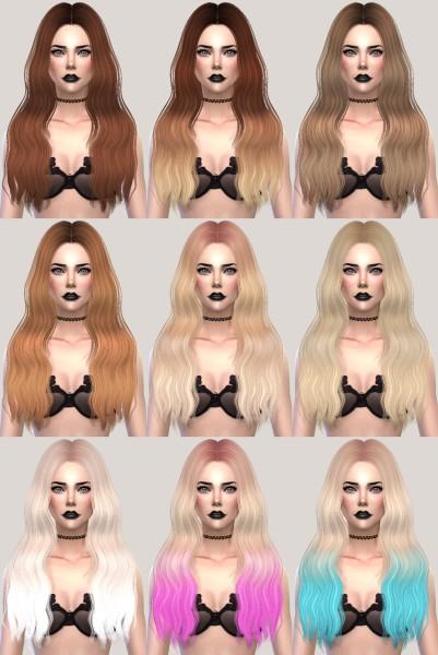 Salem2342: Sintiklia`s 24 Jane hair retextured for Sims 4