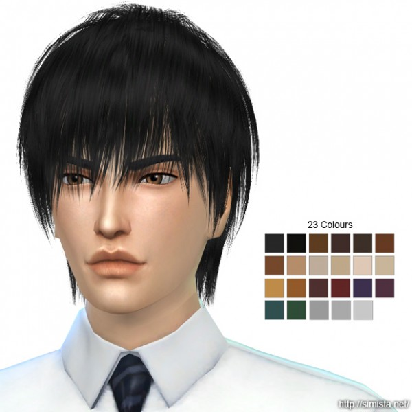 Simista: May Sims 96M Hair Retextured for Sims 4