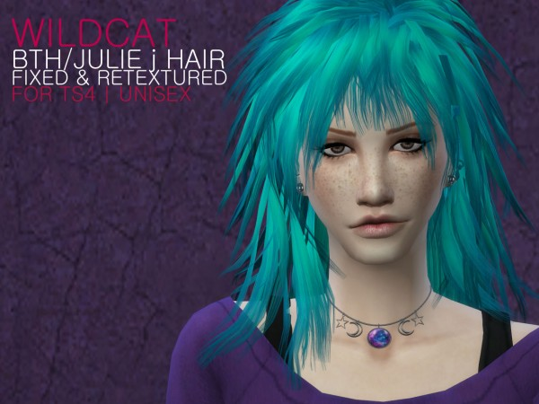 The path of never more: Wildcat hair retextured for Sims 4