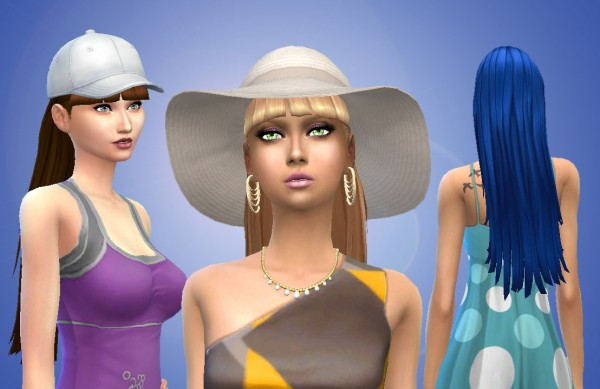 Mystufforigin: Chel hair for Sims 4