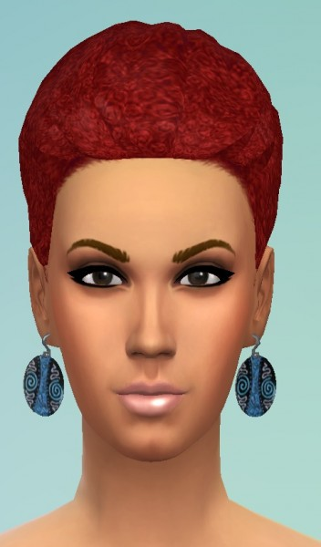 Birksches sims blog: Afro braid & Bun and Bangs for Sims 4